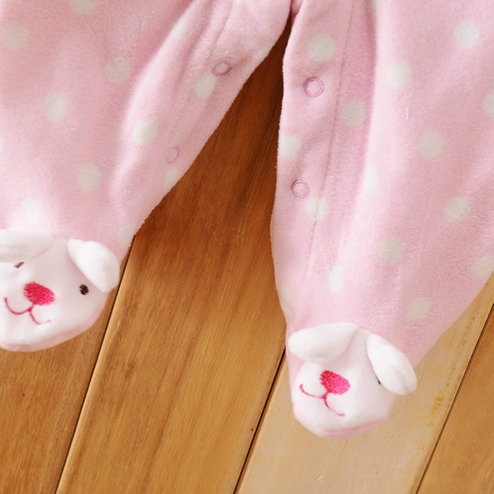 2016-Autumn-Spring-Wave-Point-Baby-Fleece-Pajamas-Rompers-One-Pieces-Long-Sleeve-Jumpsuit-Cute-Animal-Baby-Sleep&Play-Clothes-CL0886 (12)