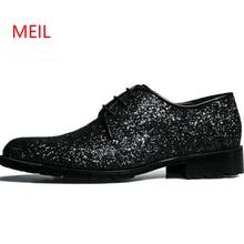 Men Dress Elevator Shoes Mens Genuine Leather Black Italian Glistening Stylish Oxford Hair Stylist Height Increase Loafer