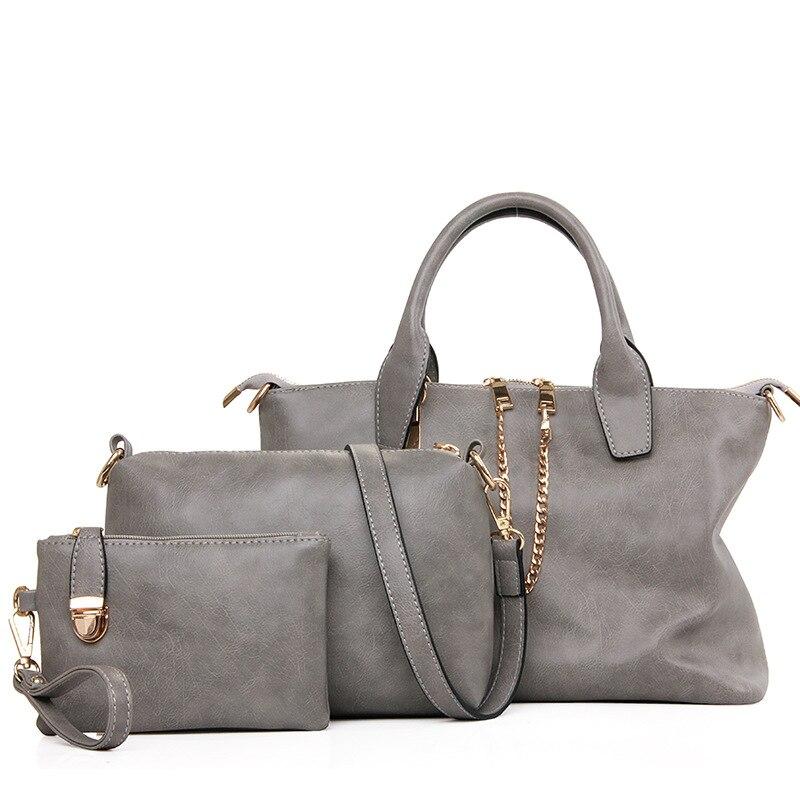 2017 Women Handbags Leather Handbag Messenger Bags Las Brand Designs Bag Famous Purse 4 Sets In Shoulder From