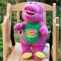 "Barney The Dinosaur Lovely Purple 12"" Plush Soft Plush Toy Doll Free ship"
