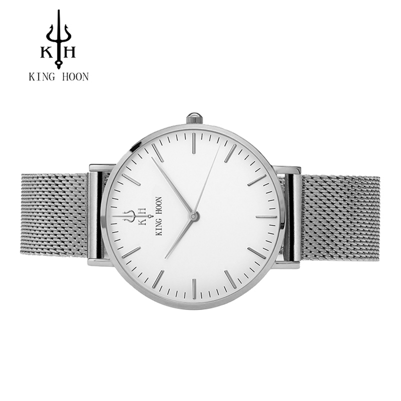 KING HOON srebrne žene satovi luksuz visoke kvalitete vode otporne - Ženske satove - Foto 2