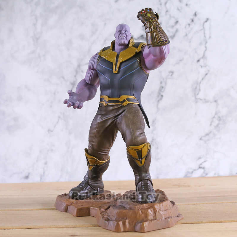 Kotobukiya-figurines Avengers Infinity War ARTFX + Thanos, jouet de Collection, modèle cadeau