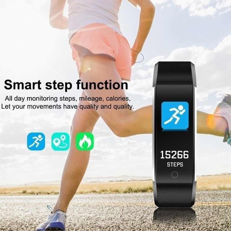 Reloj inteligente de alta gama con Monitor de ritmo cardíaco, etc. 15 tipos de reloj deportivo multifunción para hombres y mujeres, para jóvenes y viejos