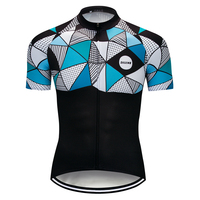 2020 Hot Sale Cycling Jersey Men's Short Sleeve MTB Bike Cycling Summer Shirt Breathable Bicycle Outdoor Sports Clothing Wear