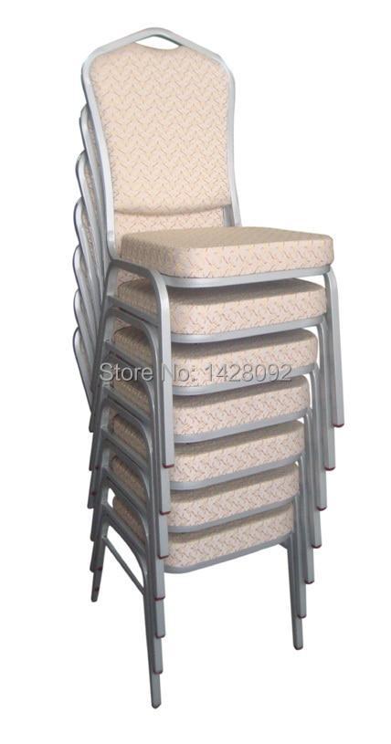 Calidad al por mayor barato fuerte metal apilables sillas de ...