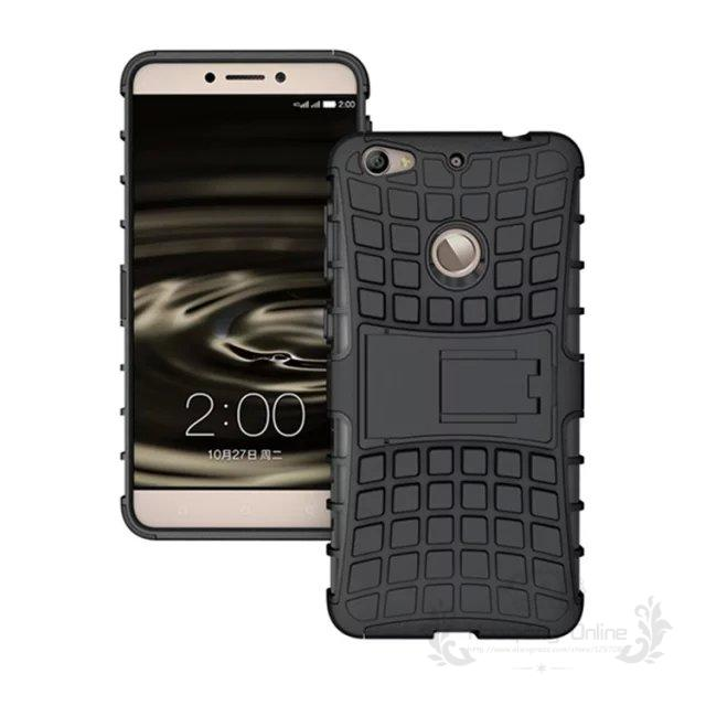Tire Style Tough Rugged Dual Layer Hybrid Hard KickStand Duty Armor Case for LeTV 1S One S X500 Mobile Phone Bags