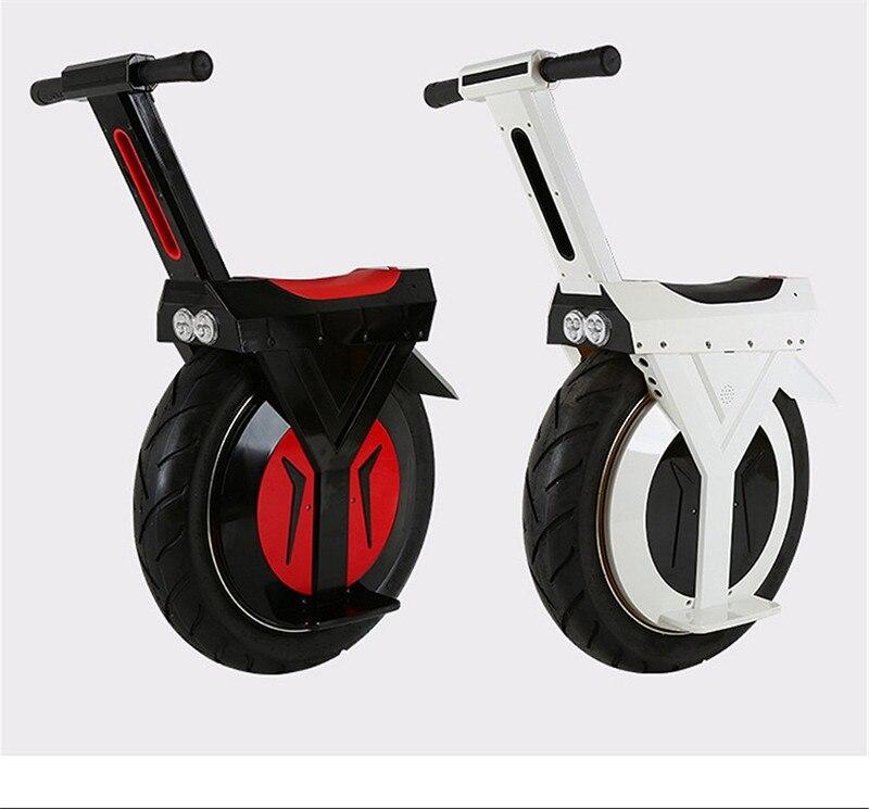 Daibot Scooter électrique 60V grand pneu une roue auto équilibrage Scooters 17 pouces 500W Monocycle électrique Monocycle pour adultes