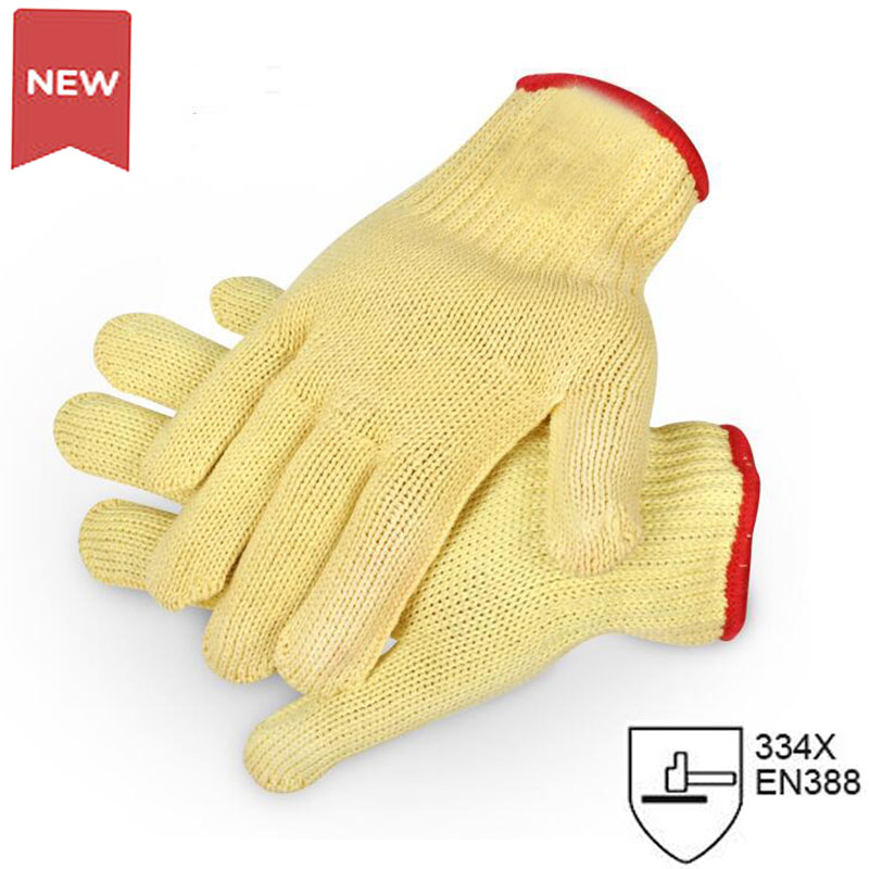 NMSafety Brand New Yellow Working Protective Safety Gloves Cut-resistant Anti Abrasion Safety Gloves Anti Cutting new safurance 10 paris wear resistant nylon nitrle precision protective builders gardening working safety gloves