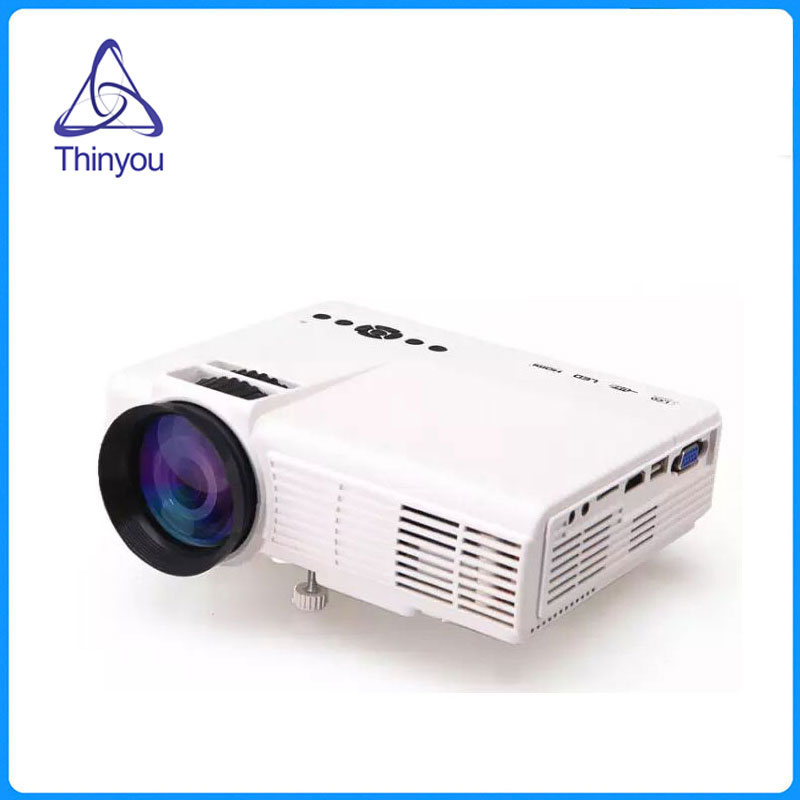 Thinyou Original mini projector video portable Full HD LCD LED home Cinema  theater Multimedia Player HDMI Proyector Beamer mini portable multimedia player dvd player home theater projector led proyector
