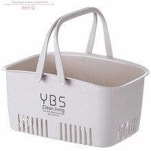 Корзина для душа пластиковая Ванна для ванной переноски маленькая Корейская Милая настольная Клубная ванна в ванне получить подстилка для животных