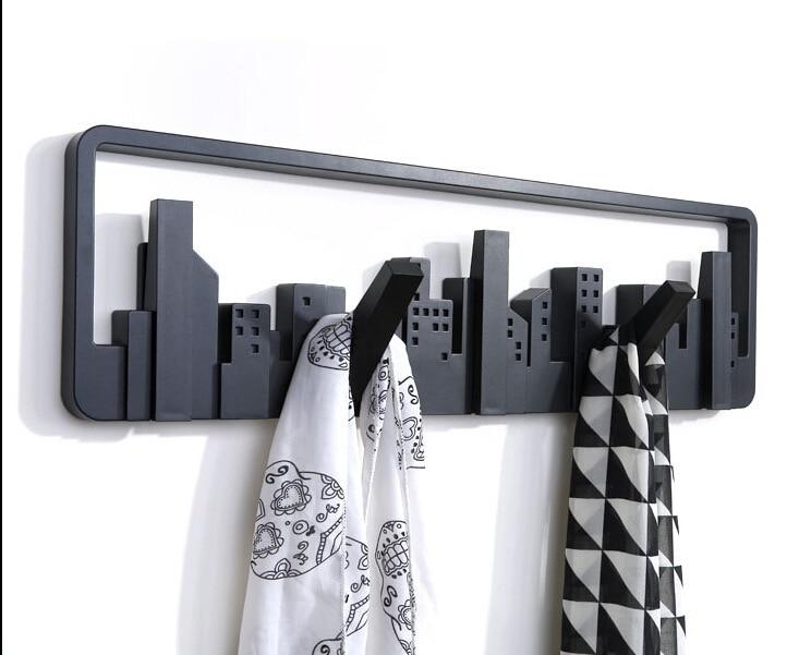 danya amazon com ac b wall dp floating finish aged hooks rustic with wood shelf