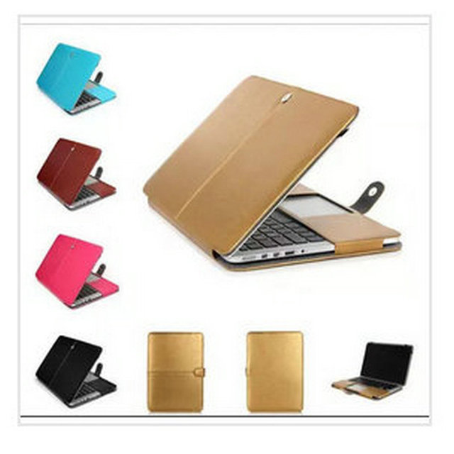 PU Leather Laptop Sleeve Bag Case Cover for For Macbook air 13 pro 13 retina 13 12 case sleeve air 11 pro 15 notbook Hard Case