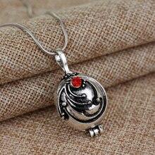 Collar de uso diario de vampiro de la película Popular Elena gildan verbena románticos collares con colgante de cristal para las mujeres encanto joyas de cuello
