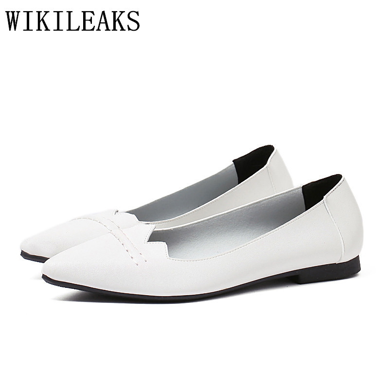 2017 Designer Genuine Leather Women Casual Shoes Luxury Brand Flat Shoes Woman Boat Shoes Slip On Loafers zapatos mujer black 2017 spring genuine leather sheepskin shoes womens black white comfortable woman flat boat shoes buckle strap zapatos mujer 002k