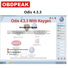 Latest ODIS 4.3.3 With Keygen For VAG 9 Brands Odis VAS 5054A Odis V4.3.3 Support Multi-languages VAS5054A Stored In 16GB 2018 a vas5054 full chip oki chip more stable bluetooth moudle vas 5054a odis 3 0 3 4 2 3 support uds protocol diagnostic tool