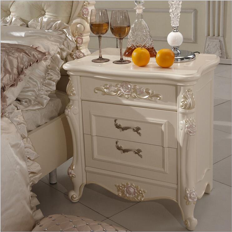 high quality bed Fashion European French Carved bed nightstands 10307high quality bed Fashion European French Carved bed nightstands 10307