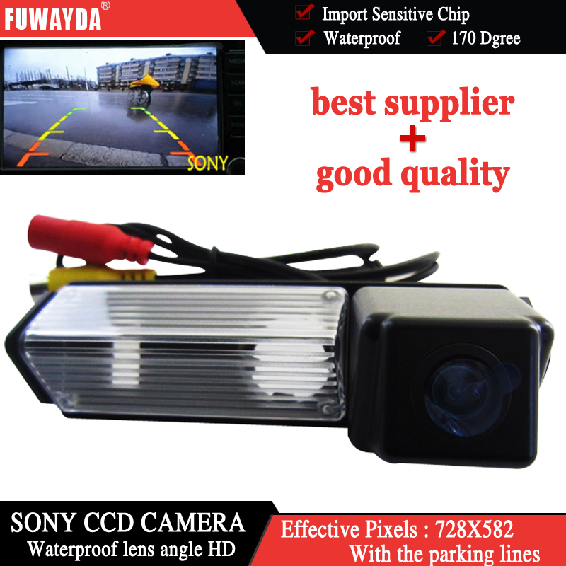 FUWAYDA night vision waterproof SONYCCD Car RearView PARKING font b CAMERA b font for Mitsubishi Dakar