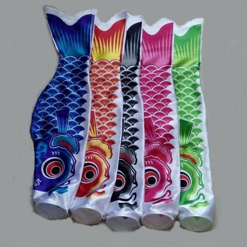 70cm koinobori japanese carp streamer wind socks koi for Japanese flag koi