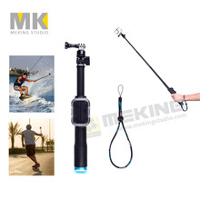 98cm GoPro Selfie Stick Remote Pole Handheld Monopod Tripod with Wifi Remote Housing Case Sports Action Camera Surfing Holiday