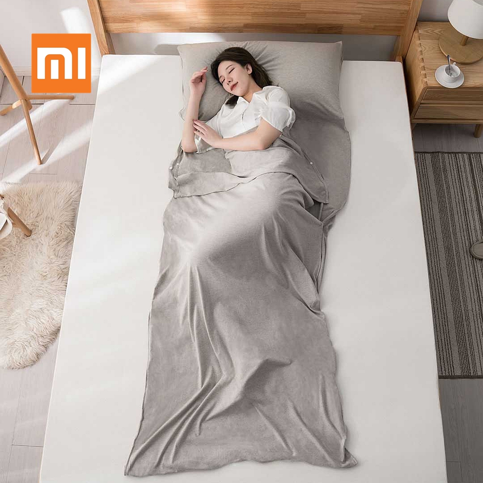 Original Xiaomi Ultralight Envelope Single Double Sleeping Bag Outdoor Travel Portable Carry Sheet Hotel Anti Dirty Sleeping BagOriginal Xiaomi Ultralight Envelope Single Double Sleeping Bag Outdoor Travel Portable Carry Sheet Hotel Anti Dirty Sleeping Bag