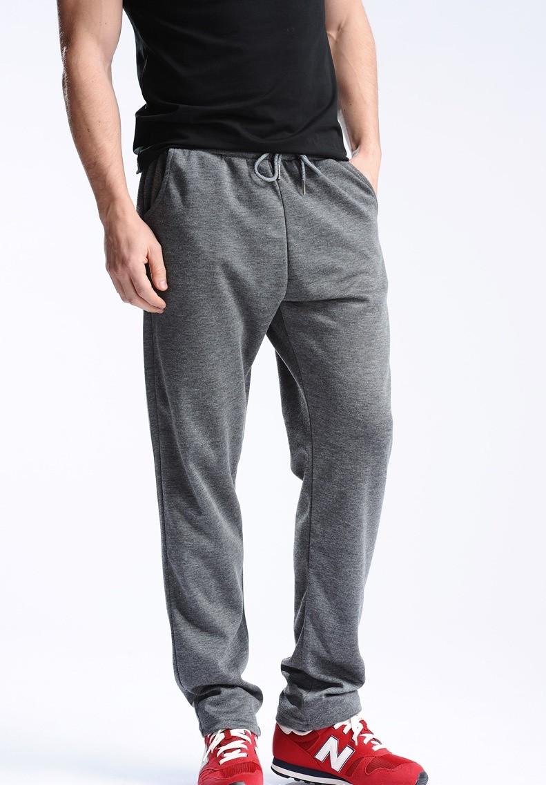 Uwback 17 Plus Size 4XL New Sweat Pants Men Joggers Pants Elastic Waist Loose Sweat Pants For Men Casual Trousers homme CAA329 10