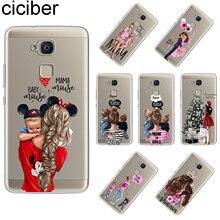 ciciber Funda For BQ Aquaris X V U2 C U X5 VS X2 Plus Lite Pro Soft TPU Phone Case E5s M5 M5.5 E4.5 M4.5 Super Mom Girls