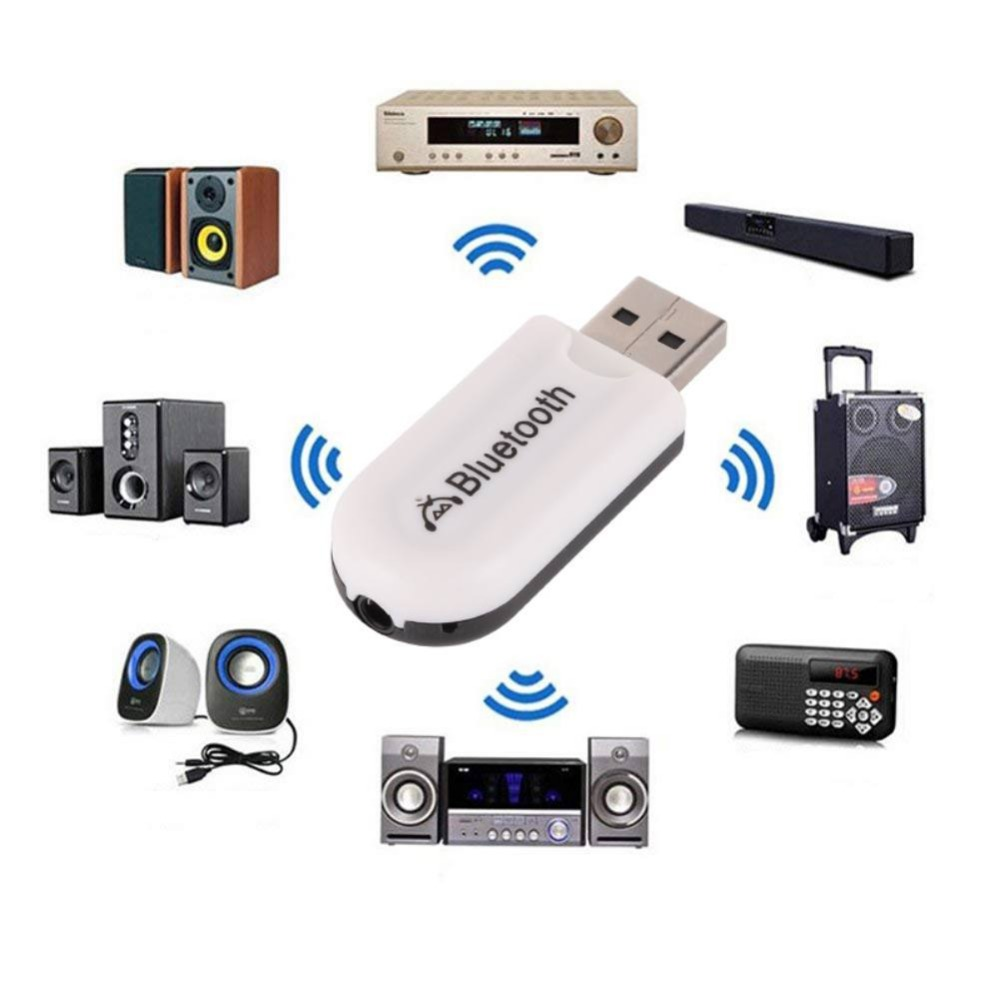 Wireless Bluetooth Receiver EDR USB 3.5mm Jack For Car Music Audio Aux A2dp For Headphone Reciever Adapter