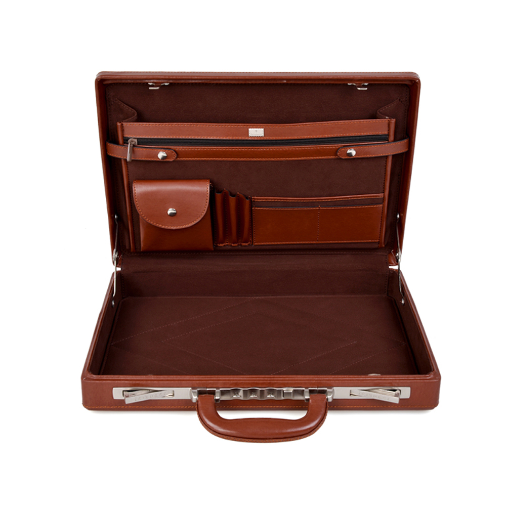 Aliexpress.com : Buy feixueer Luxury Business Leather Suitcase 14 ...