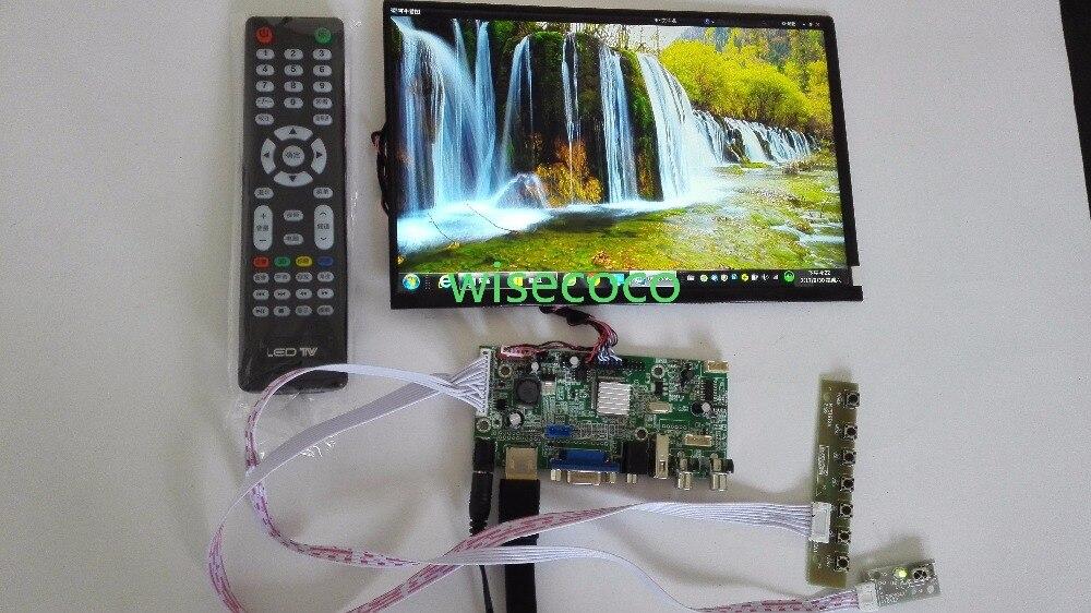 10.1 pouces 1280*800 écran moniteur IPS avec carte pilote HDMI VGA USB pour bricolage