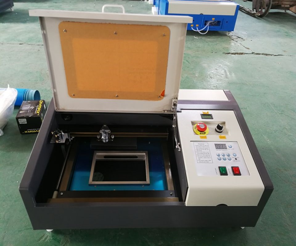50W CO2 Laser Engraving Machine With USB Port New Style
