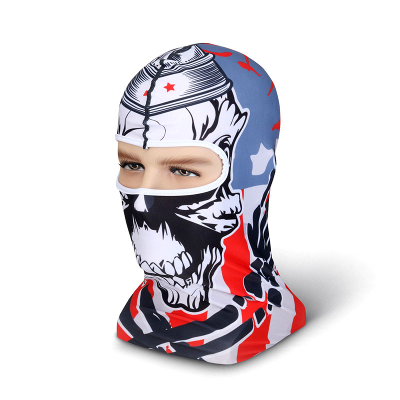 Smart New 3d Snowboard Motorcycle Bicycle Headwear Hats Outdoor Protection Winter Halloween Full Face Mask Without Return Home