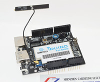 Linux WiFi Ethernet USB All In One Yun Shield Compatible With Arduino Leonardo UNO Mega2560 Duemilanove