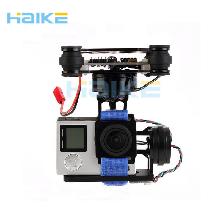 ФОТО haike storm32 3 axis brushless gimbal w/ motors & 32 bit storm32 controlller for gimbal gopro3 / gopro4 fpv accessory