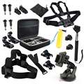 Go pro Accessories kit 20-in-1 Basic Common Outdoor Sports Accessories for All Gopro Hero 4/3+/3 and  Sj4000 Sj5000 Sj6000