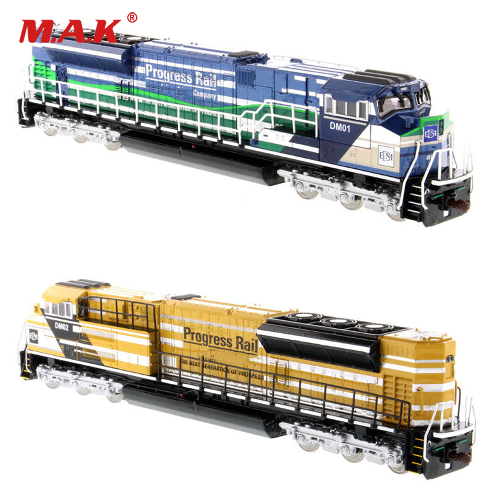 Collectible Diecast 1/87 Progress Rail-A EMD SD70ACe-T4 Locomotive 85534/85546 Tram Model for Fans Collection GiftsCollectible Diecast 1/87 Progress Rail-A EMD SD70ACe-T4 Locomotive 85534/85546 Tram Model for Fans Collection Gifts