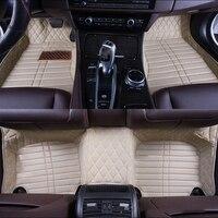Custom car floor mats for Volkswagen All Models vw passat b5 6 polo golf tiguan jetta touran touareg car styling floormat