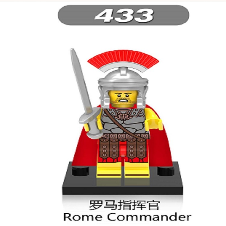 Super Heroes Star Wars Witch Elves Medieval Knights Rome Commander Gladiatus Dolls Building Blocks Toys For Children Gift XH 433