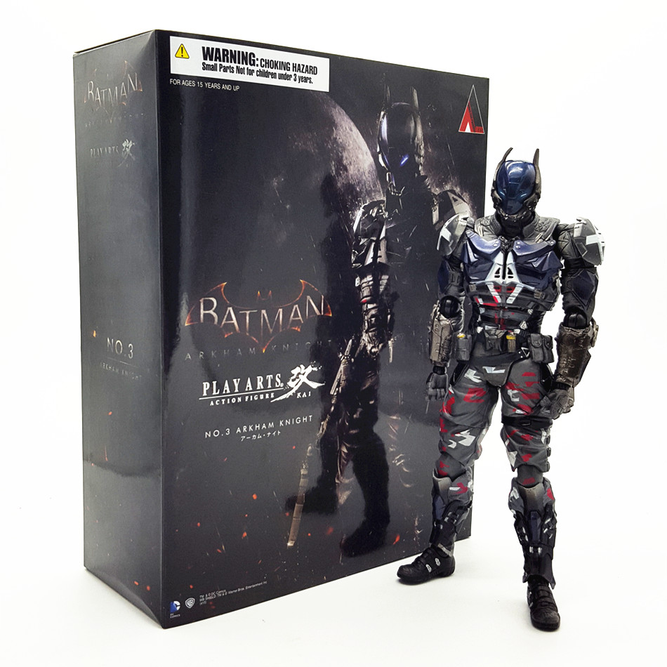 SAINTGI Batman v Superman Dawn of Justice Arkham Knight Batman Kai Doll DC Super Heroes PVC 23CM Action Figure Collection Model