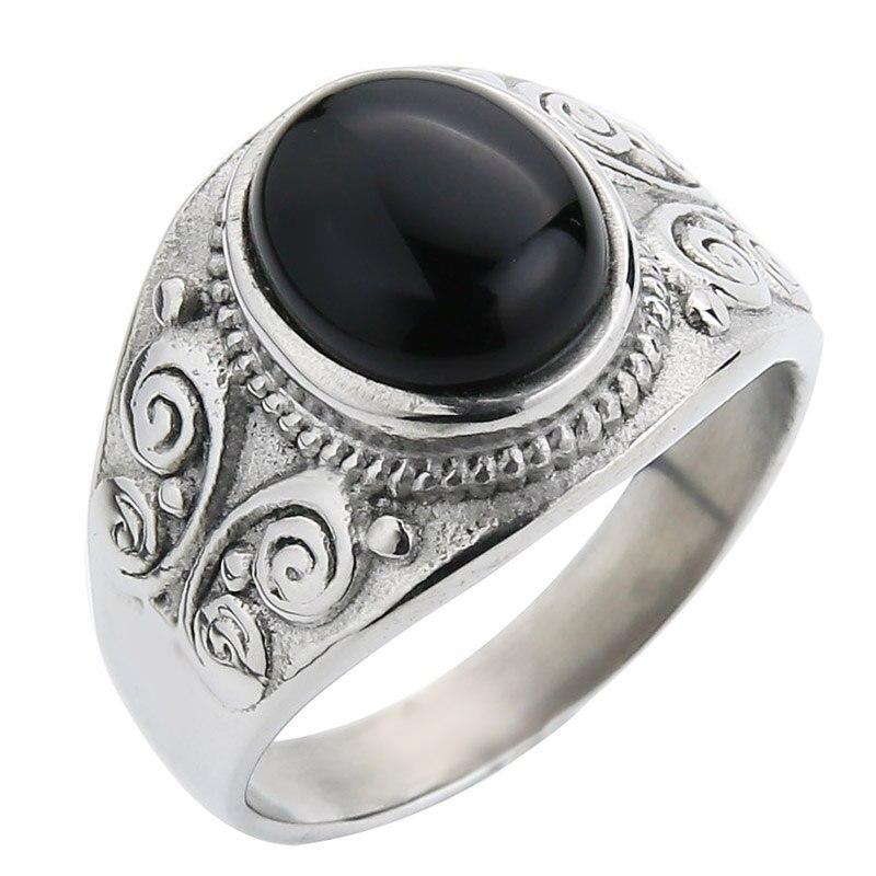 Silver-black agate
