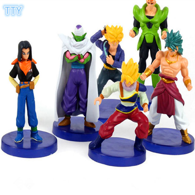 6 Pieces Set Of Dragon Ball Z Figures