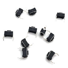 20 Pcs/lot 3*6*4.3 MM 2 Pin DIP Light Tombol Keyboard Panel PCB Sesaat Taktil Kebijaksanaan push Button Micro Switch(China)