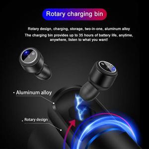 Image 4 - Auriculares Bluetooth 5,0 TWS inalámbricos manos libres inalámbricos auriculares deportivos resistentes al agua con caja de carga de micrófono PK X2T
