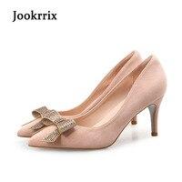 Jookrrixแบรนด์ใหม่แฟชั่นรองเท้าส้นสูงรอง