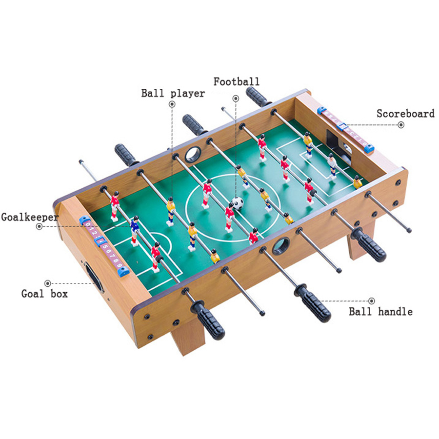 Football Table Games Foosball Table Soccer Tables Party Board Mini Balle Baby Foot Ball Desk Interaction Game Kid Player Gift T4-2