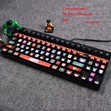 MeBonT For repper V500 keyboard veneer mechanical keyboard alloy plate V500S V500L color paste protective film