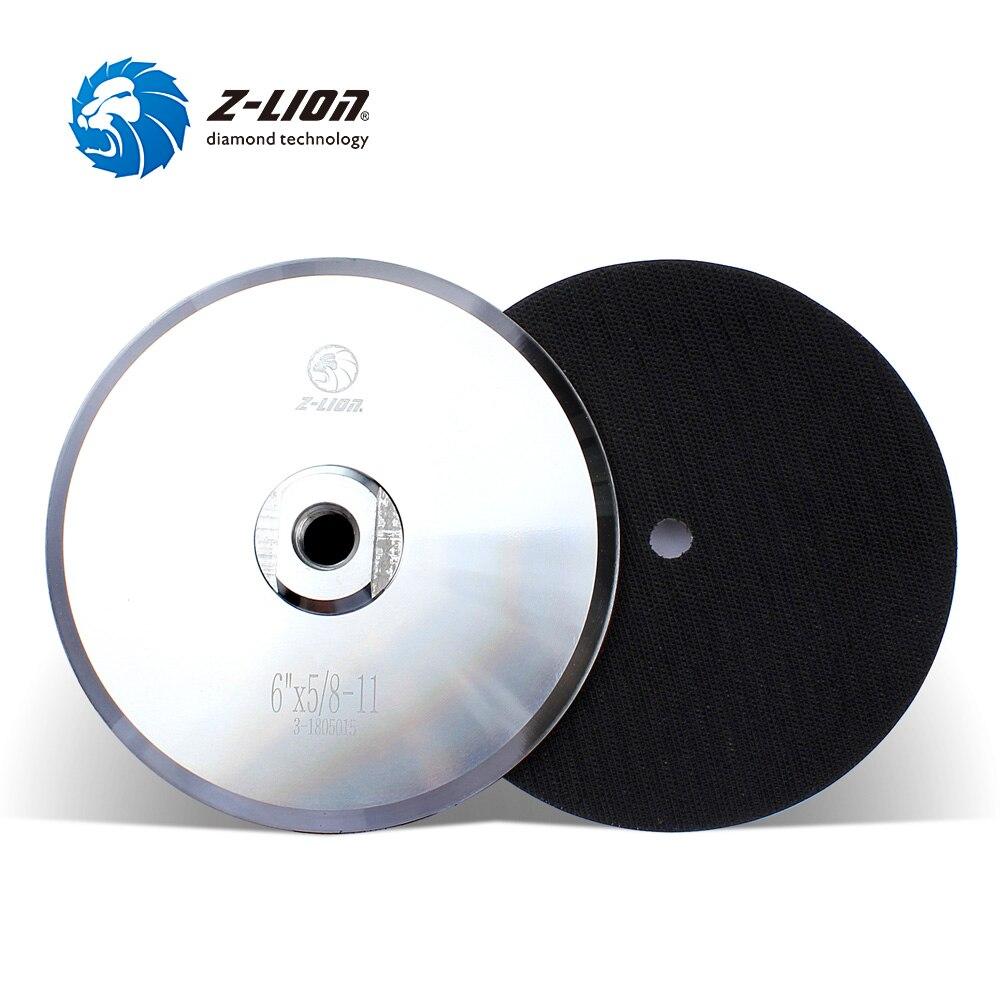 Z-LION 6inch Angle Grinder Backer Pad Aluminium Based Backing Pad Holder For Polishing Hook & Loop M14 Or 5/8-11 парка tony backer tony backer to043emxqd18