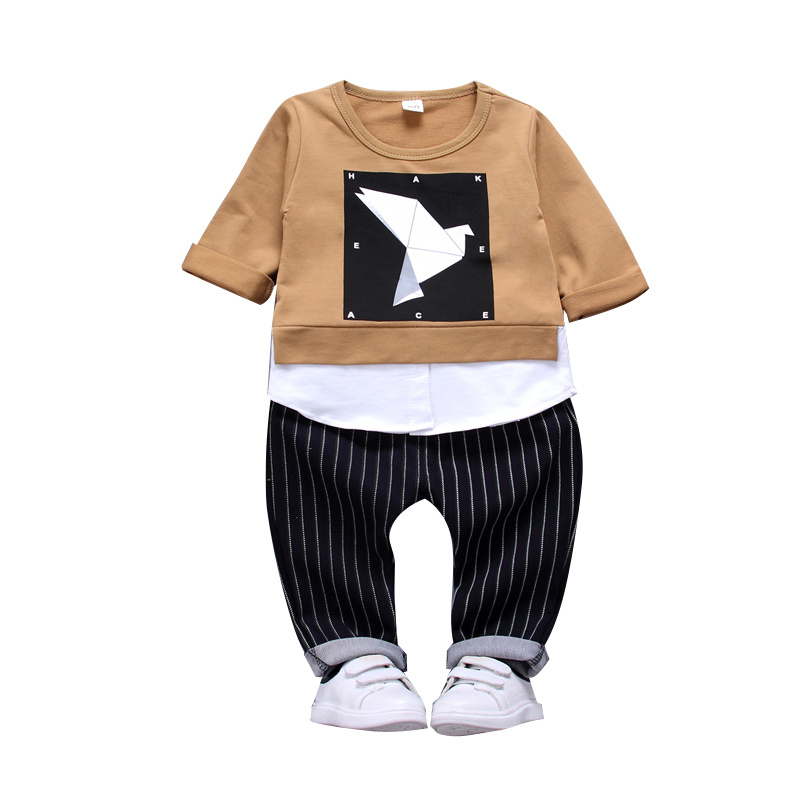 Children Clothing Sets Kids Cotton Outfit Baby Boy Girl Sport Suits 2018 Spring Autumn Toddler T-shirt Pants 2 Pcs/set Tracksuit spring baby clothes set cotton 2018 fashion children boy 2pcs clothing child long sleeve t shirt pants suit kids sport wear