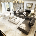 (1 + 3 + салон/набор) 2 цвета Домашний современный диван набор для большого дома # CE-103