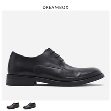 British Small Leather Shoes Soft Bottom Korean Version Of The Trend Handmade Casual Business Mens