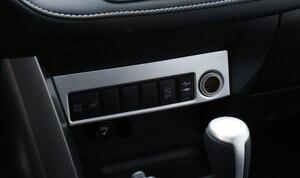 Image 3 - Sólo para la mano izquierda coche para Toyota RAV4 2016 2017 ABS accesorios Interior encendedor de cigarrillo caja decoración de Marco 1 piezas